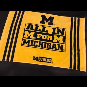 Other - University of Michigan NCAA Football Hand Towel
